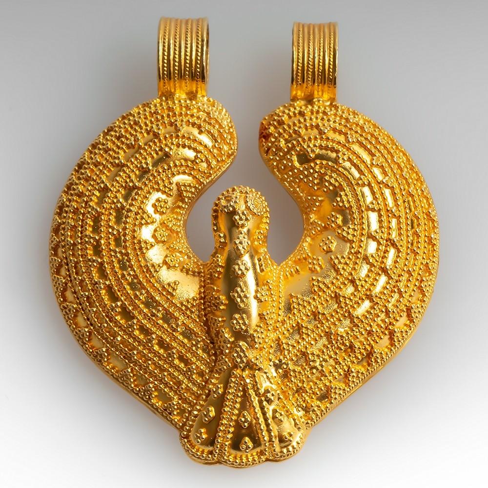 Ilias Lalaounis 18K Yellow Gold Pendant