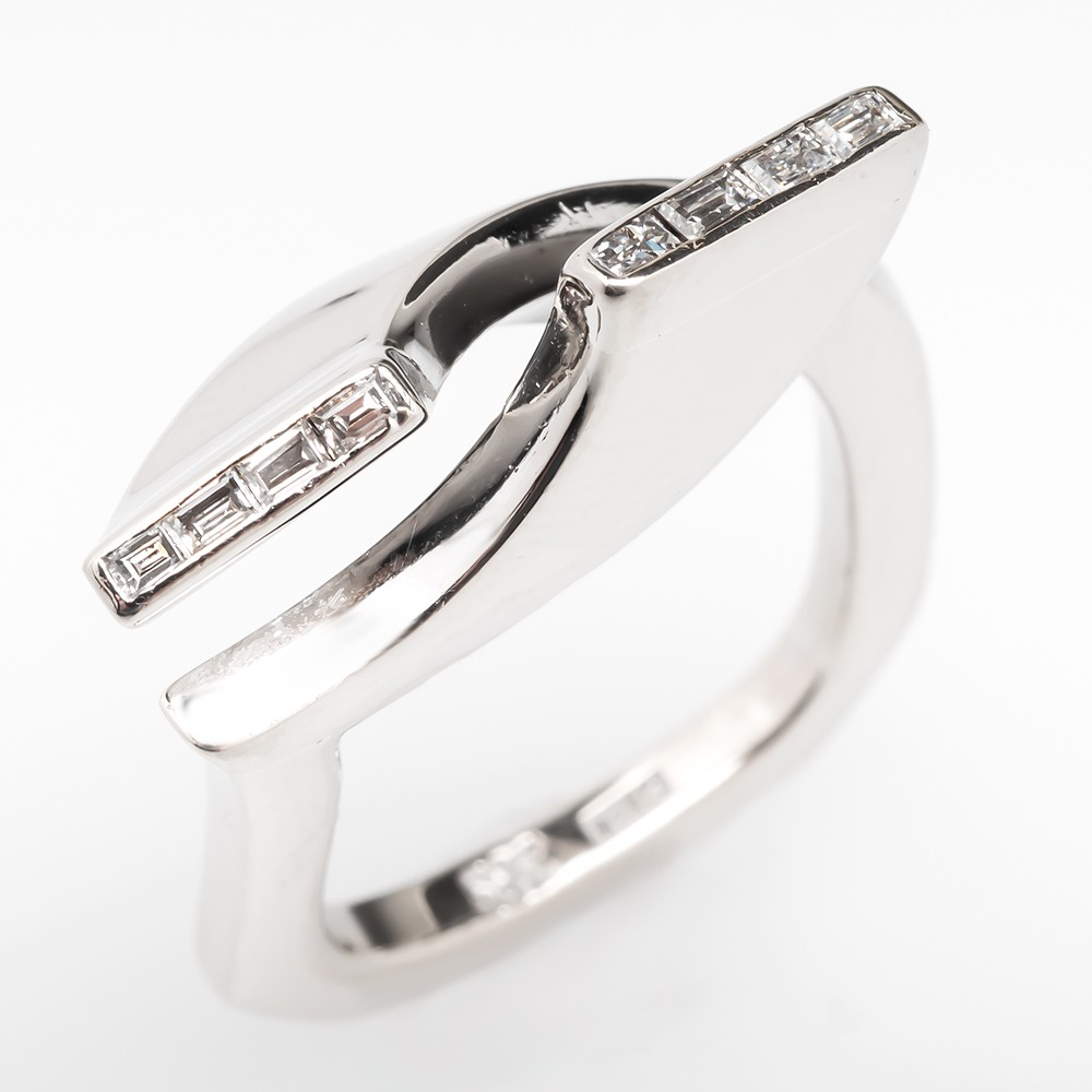 Diamond Bypass Ring 14k