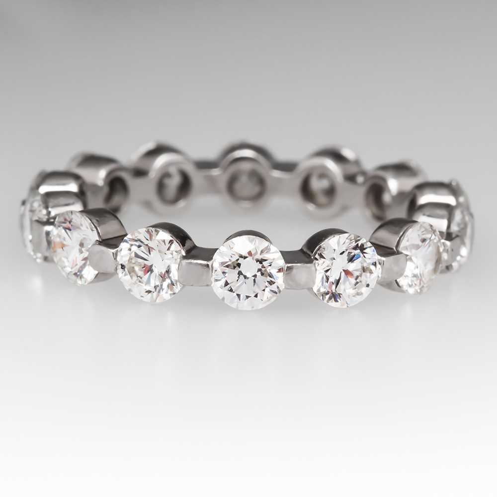 Diamond Eternity Platinum Band