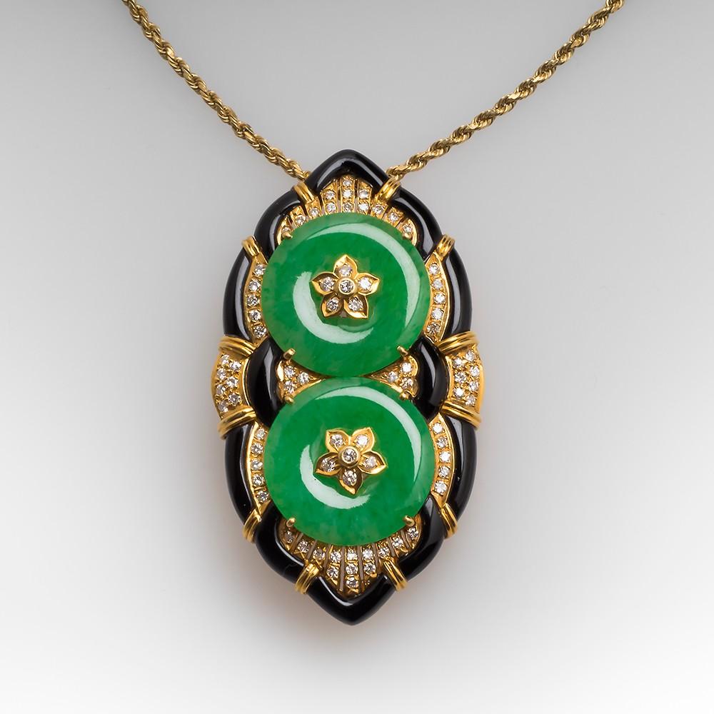Christie's Often Sells Jadeite Similar to this jewel