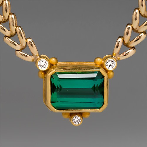Richard Paille Tourmaline Necklace