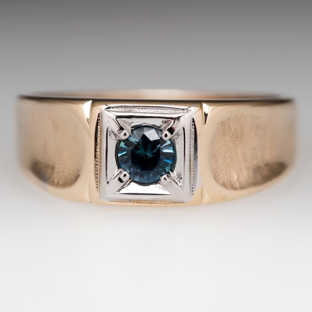 Mens Montana Sapphire Ring