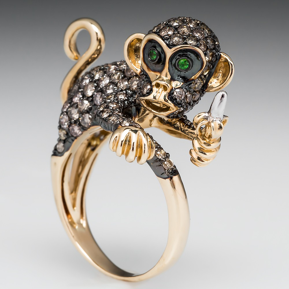 Neda Behnam Monkey Cocktail Ring