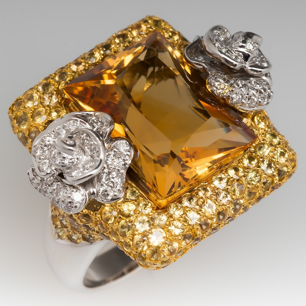 yellow sapphire around lifestyle carat carats wy ap gems photos precious world diamond the abc news
