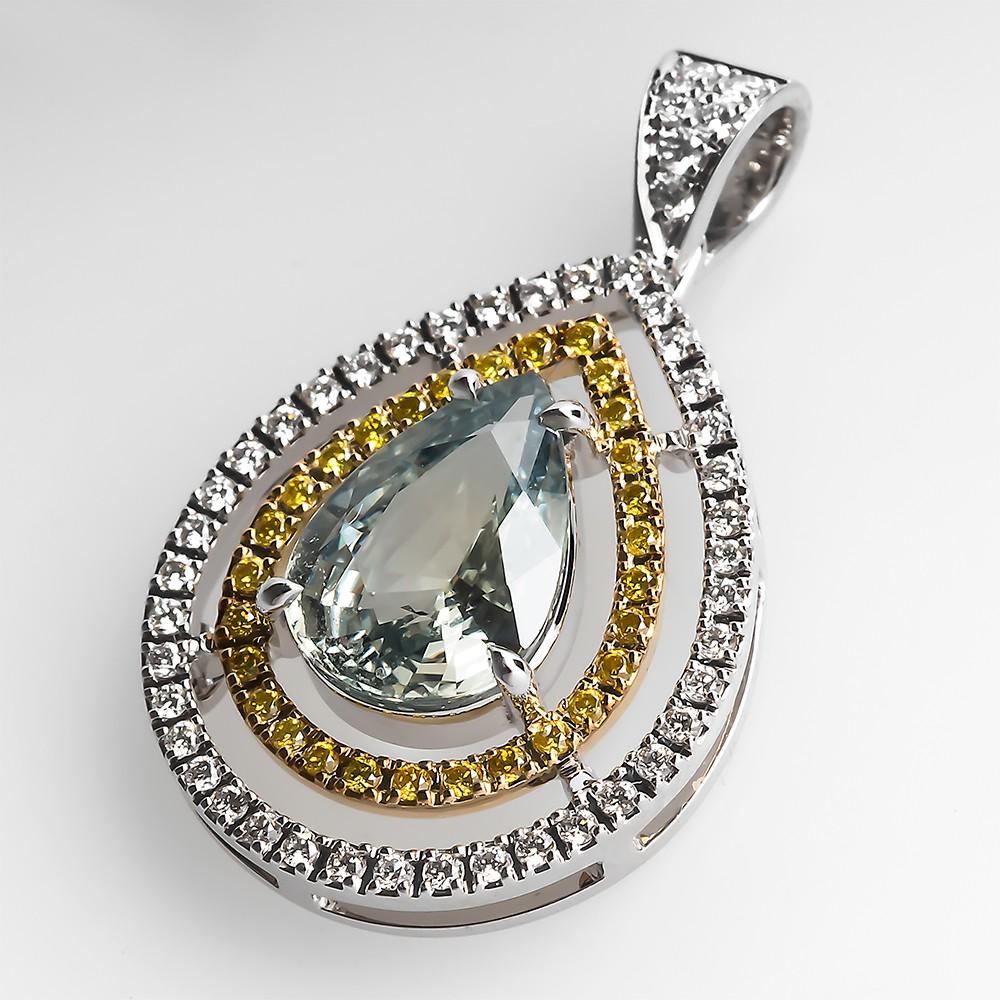 Tremonti Green Sapphire Pendant
