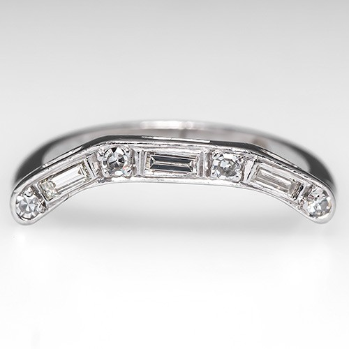 Vintage Diamond Wedding Ring Guard