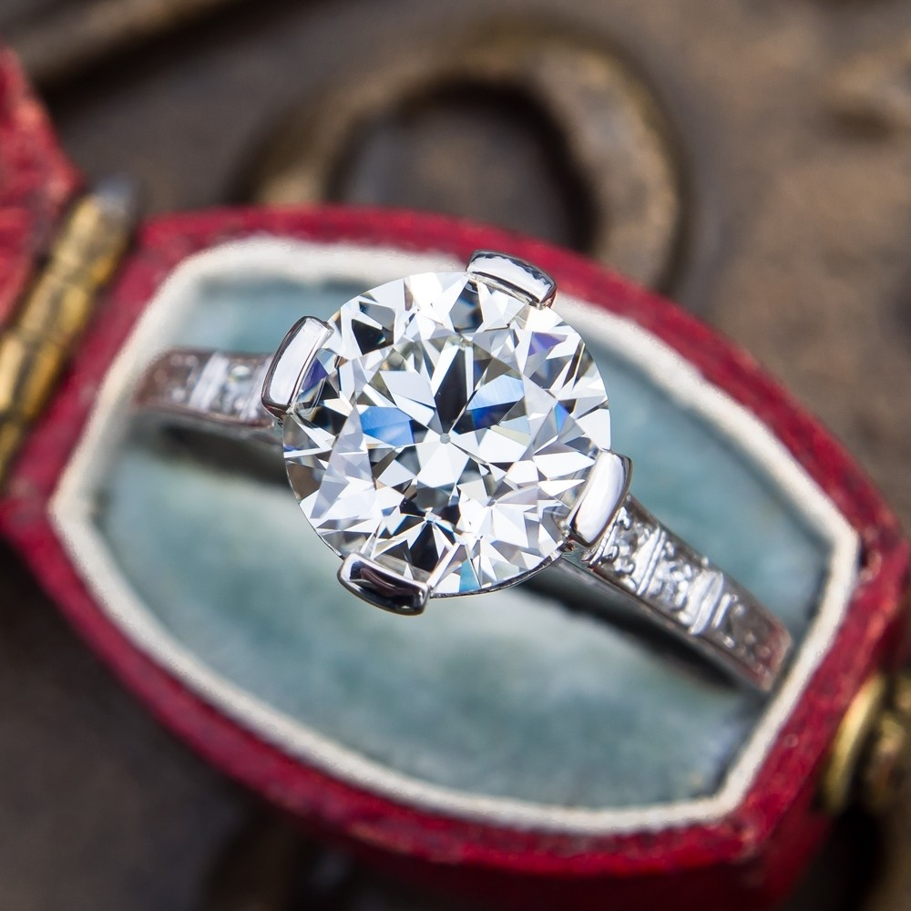 Vintage Engagement Rings Antique