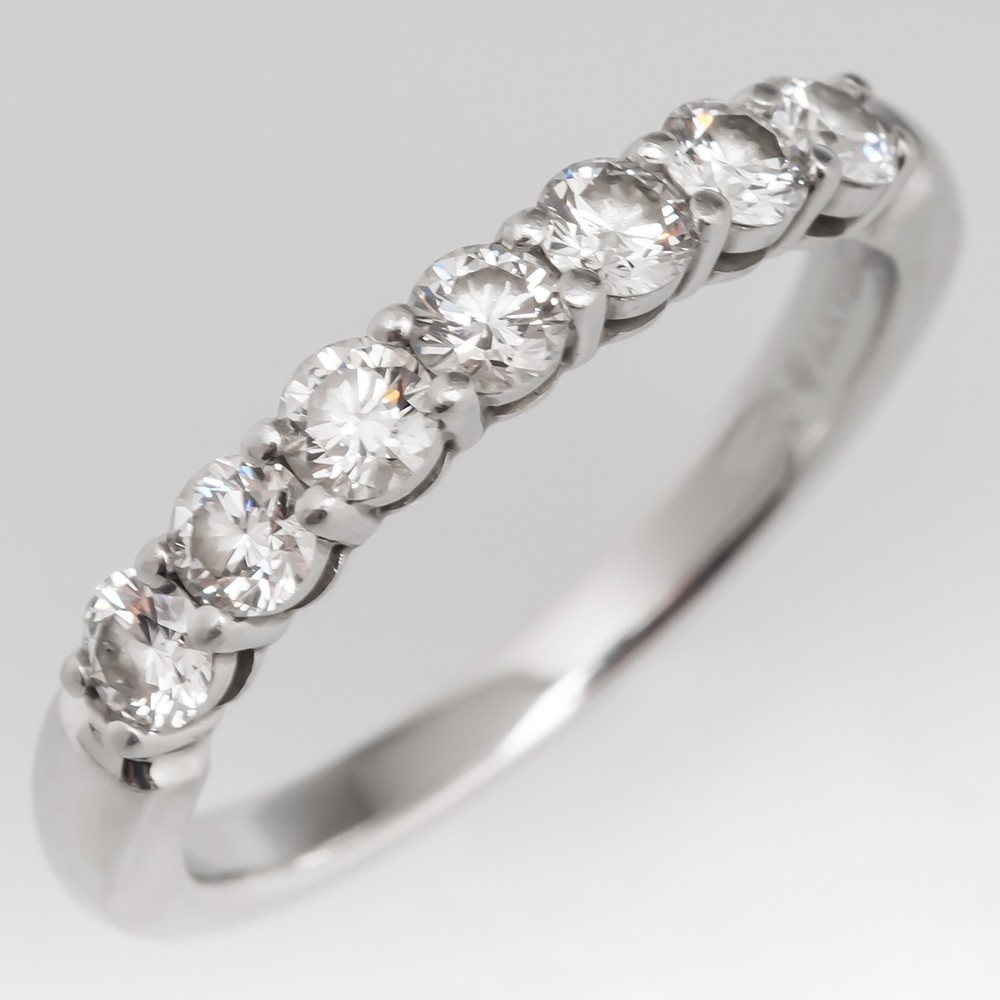 Tiffany Embrace Band Ring 3mm Platinum Retail $5225