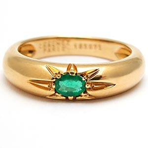 Chaumet Paris Emerald Ring