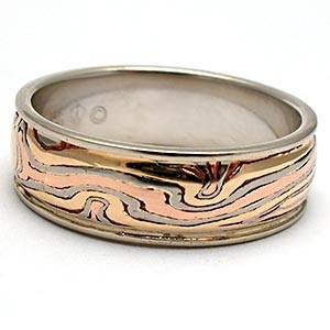 George Sawyer Mokume Gane Ring