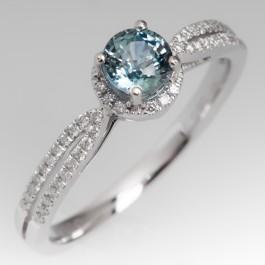 Pastel Blue Green Montana Sapphire Engagement Ring 14k. Huge Wedding Rings. 1.5 Wedding Rings. Stylish Wedding Rings. Phd Rings. Box Wedding Wedding Rings. Catholic Wedding Rings. Support Rings. Third Eye Wedding Rings