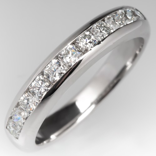 Tiffany Lucida Cut Diamond Channel Set Wedding Band