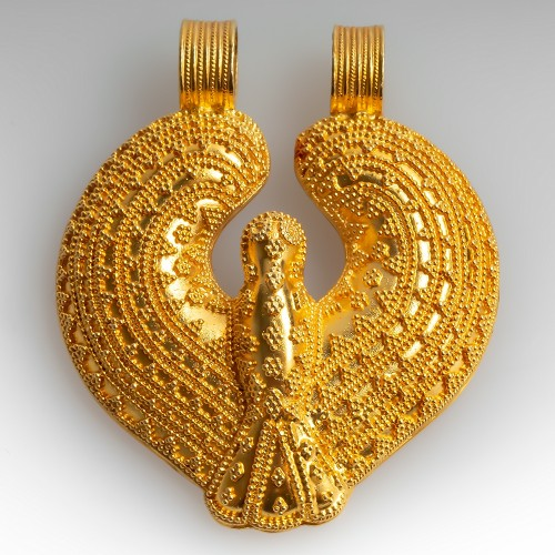 Ilias Lalaounis 18K Yellow Gold Pendant