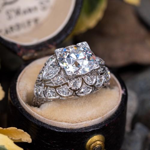 f67c0a6276a6d Vintage Engagement Rings | Antique Diamond Rings | EraGem