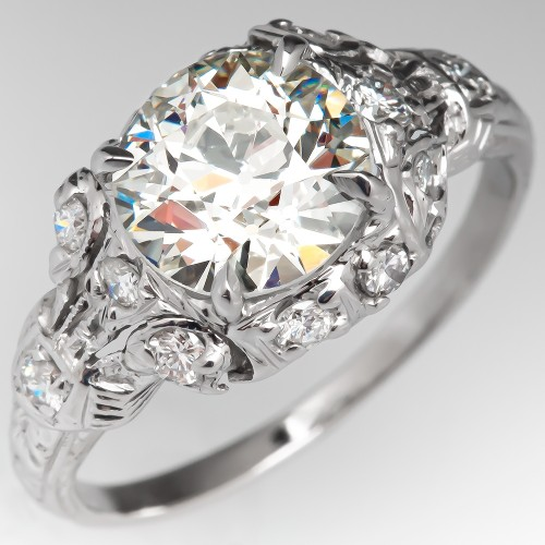 607c73308fd26 Vintage Engagement Rings | Antique Diamond Rings | EraGem