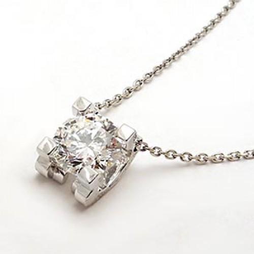 Cartier Diamond Solitaire Necklace