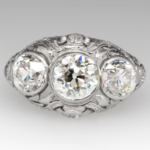 Antique Edwardian Engagement Rings