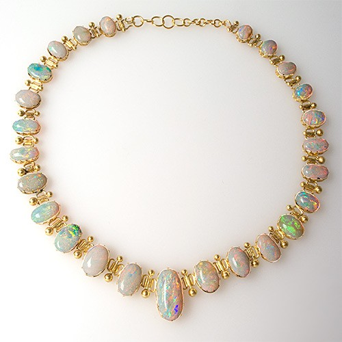 Antique Opal Necklace