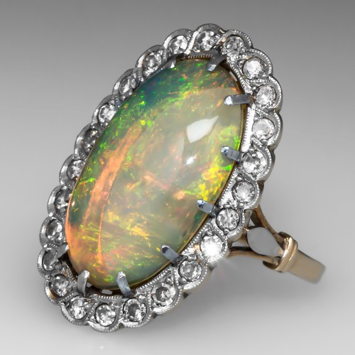 Antique Opal Rings