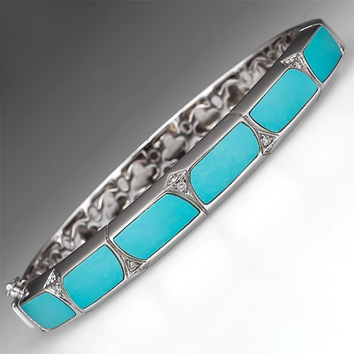 Radiant Sapphire Engagement Ring Set