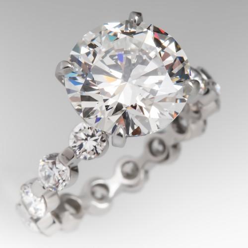 GIA 4 Carat Diamond Ring
