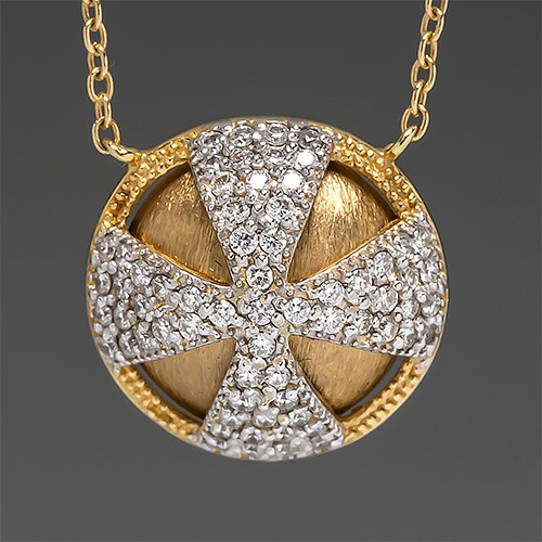 Jude Frances Diamond Necklace
