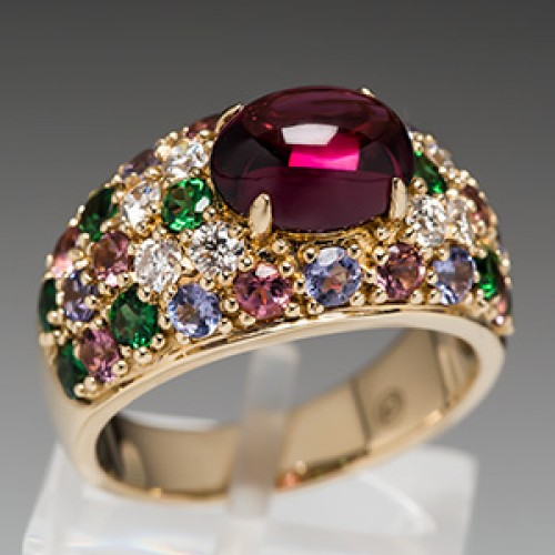 Le Vian Carlo Viani Garnet Ring