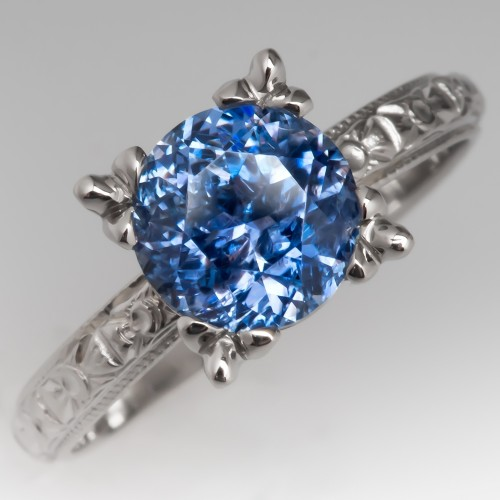 Montana Sapphire Engagement Rings