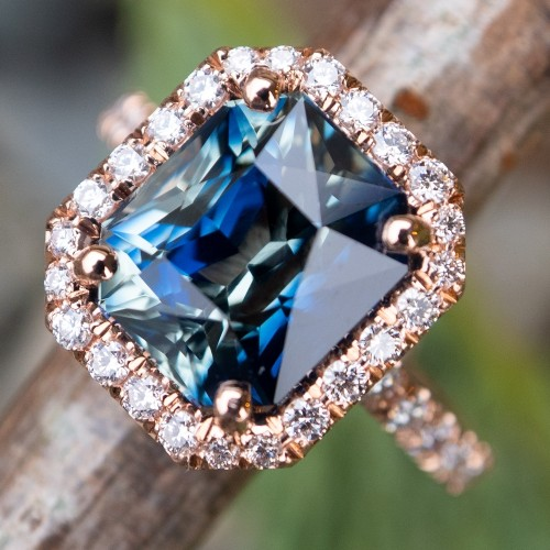 Natural Parti Sapphire Rings