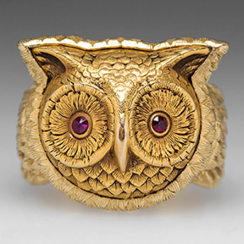 Owl Cocktail Ring