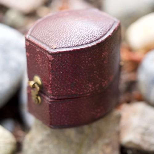 S.H. & D. Cass Goldsmiths Jewellers & Silversmiths Ring Box