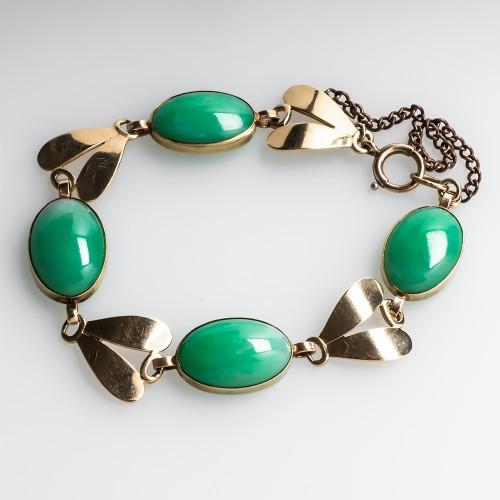 Vintage Jadeite Jade Bracelet