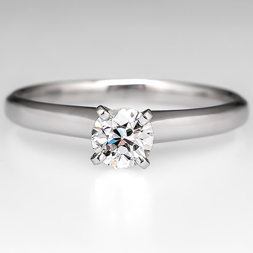 Vintage Eco Friendly Engagement Ring