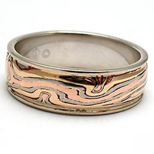 George Sawyer Mokume Gane Ring